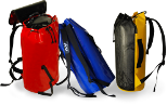 Transport bags, for carrying equipment, chalk bags